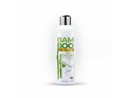 Nanolab BAMBOO Gold Jemný prací gel na šátky a roušky 300 ml