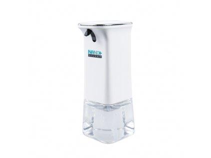 Bezdotykový dávkovač dezinfekce NANO+ gel, mýdlo balzám