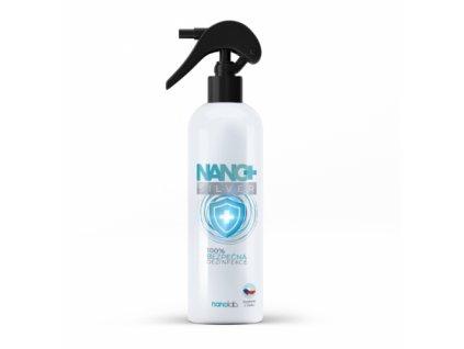 Dezinfekční sprej NANO+ Silver 500ml