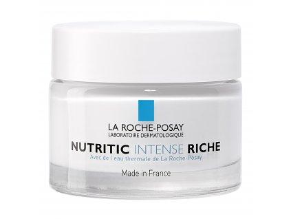 LA ROCHE POSAY Nutritic Intense Riche Hloubkově vyživující obnovující krém, velmi výživná textura 50 ml