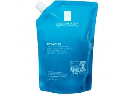 LA ROCHE POSAY Effaclar Čisticí pěnící gel pro mastnou pleť – náhradní náplň 400 ml