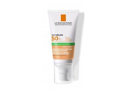 LA ROCHE-POSAY Anthelios XL Tónovaný zmatňující gel-krém SPF 50+ 50 ml