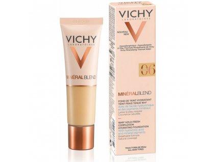 Vichy Minéral blend Rozjasňující hydratační make-up 06 Ocher 30 ml