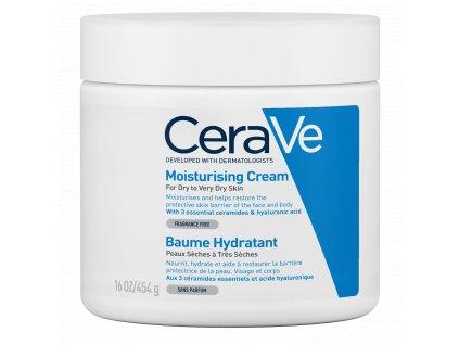 CERAVE Hydratační krém pro suchou až velmi suchou pokožku 454 g