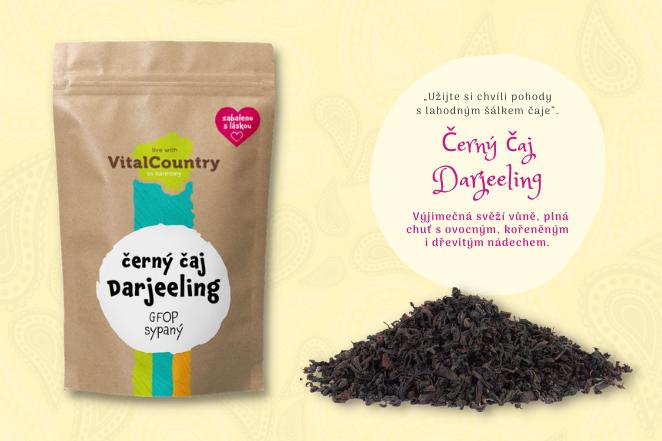 Darjeeling černý čaj GFOP