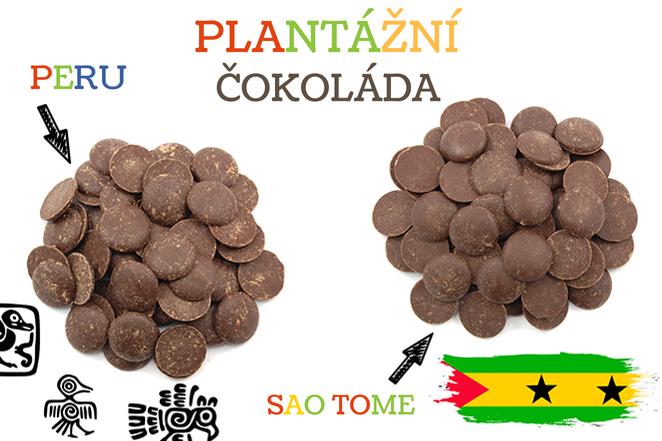 Plantážní čokoláda