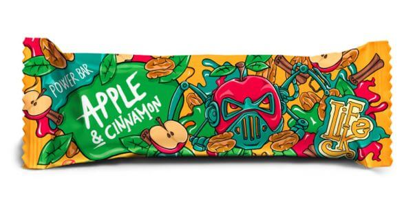 LifeLike Power Bar Apple Cinnamon 50g