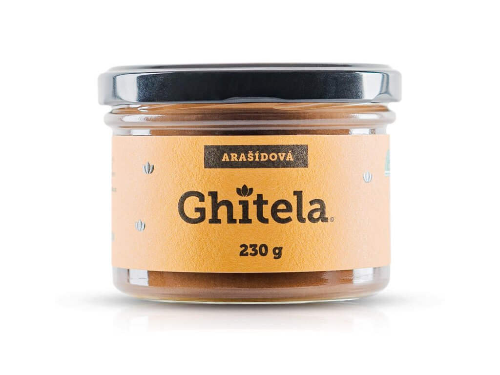Ghítela nugátová pomazánka 230 ml