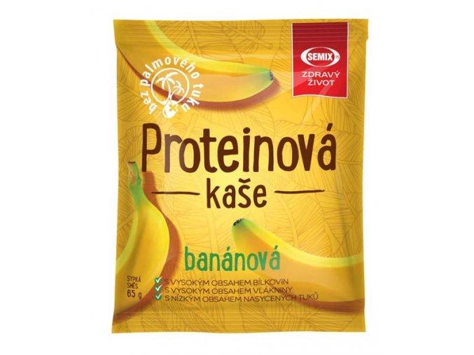 Proteinová kaše banánová 65 g