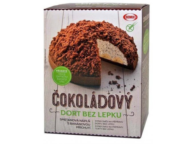 Čokoládový dort bez lepku 430 g