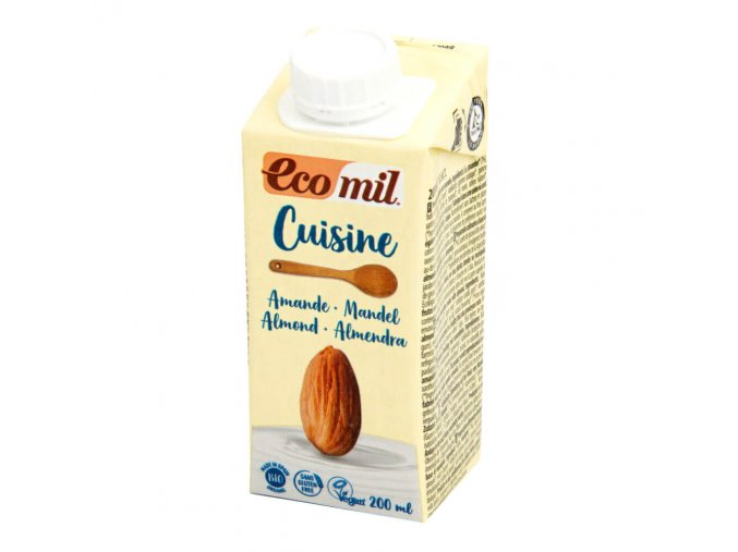 Mandlová alternativa smetany 200 ml BIO ECOMIL