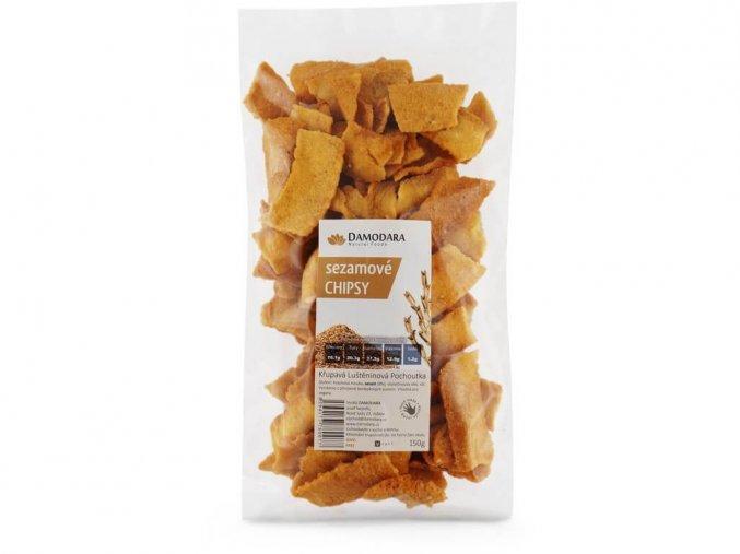 Sezamové chipsy 150g