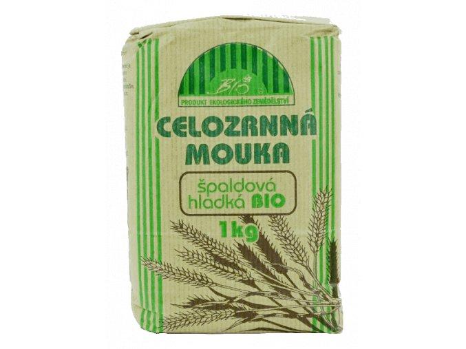 Natural mouka špaldová celozrnná hladká BIO 1 kg
