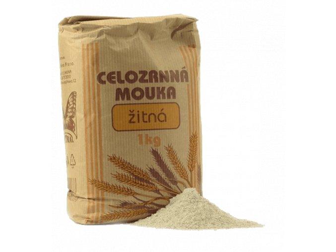 Natural mouka žitná celozrnná 1 kg