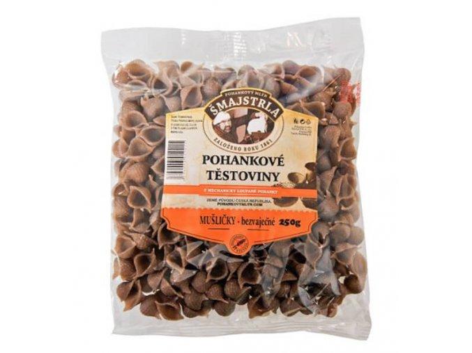 Pohankové těstoviny mušle 250 g