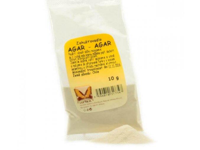 Agar Agar prášek z mořské řasy 10g