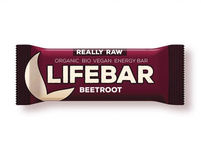 Tyčinka Lifebar červená řepa se slunečnicovými semínky