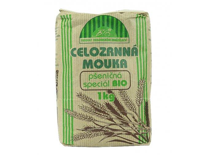 Celozrnná mouka pšeničná speciál BIO 1 kg