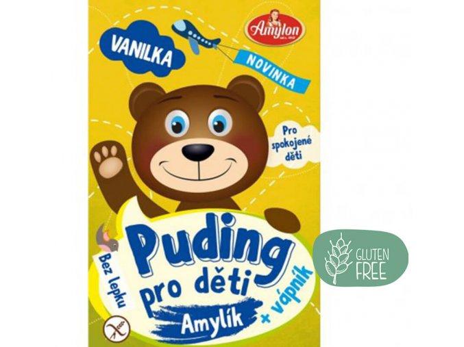 Amylon Puding vanilkový pro děti bez lepku 40g