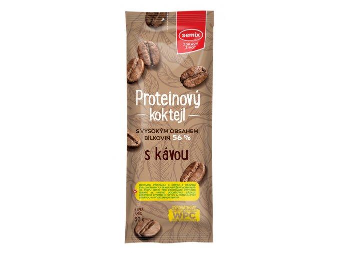 Proteinový koktejl s kávou 30 g