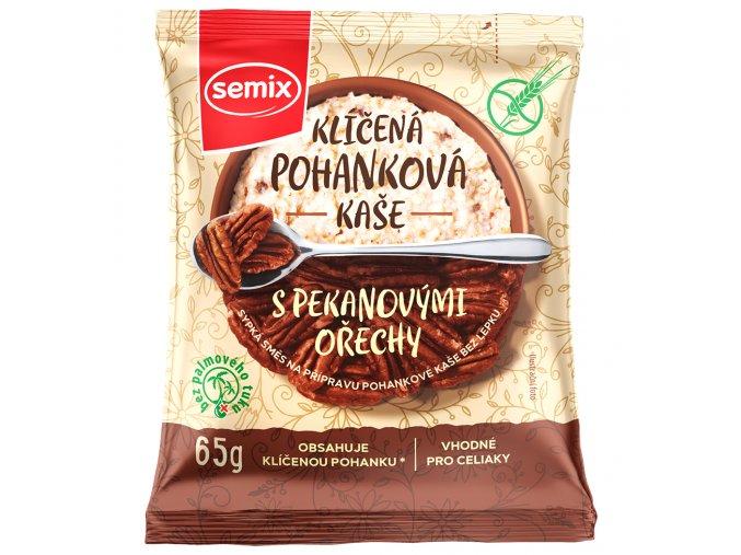 Pohanková kaše s pekanovými ořechy bez lepku 65g