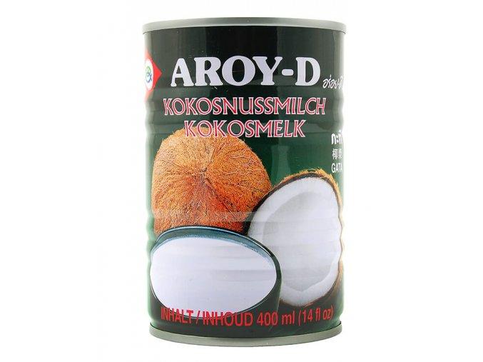 Kokosové mléko Aroy D bez E435