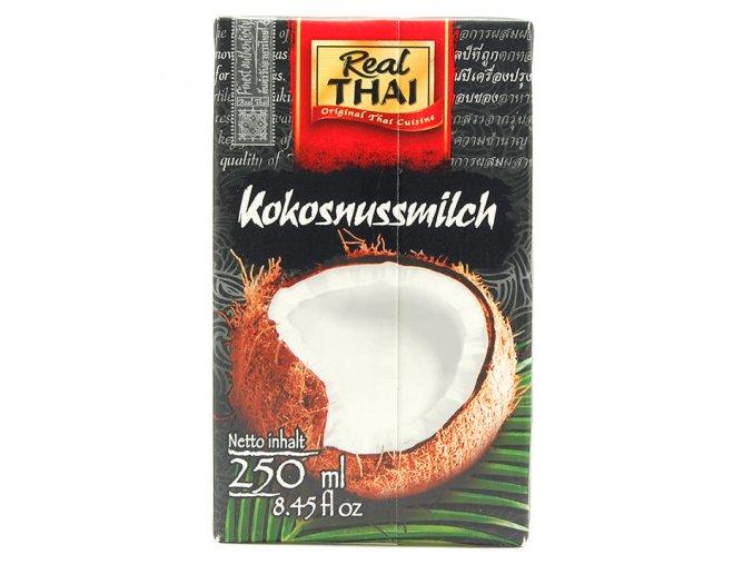 Kokosové mléko Real Thai 250ml