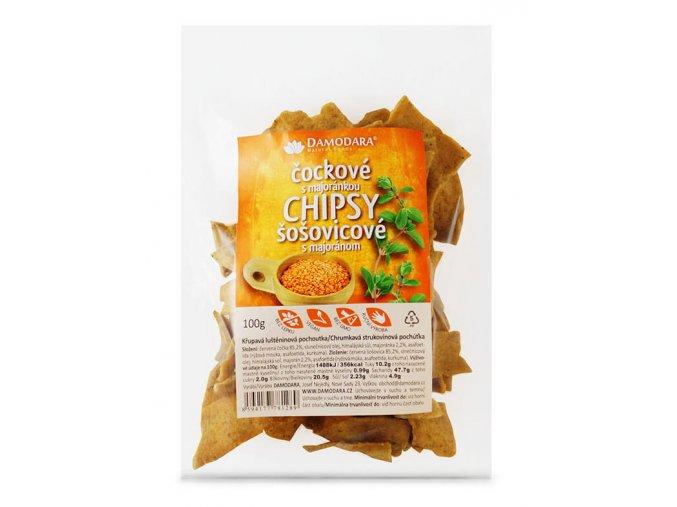 damodara cockove chipsy 100g