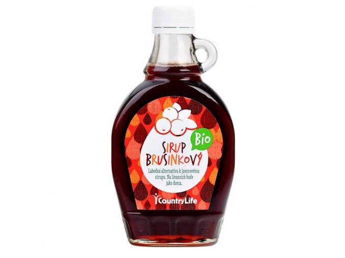 Sirup brusinkový 250 ml