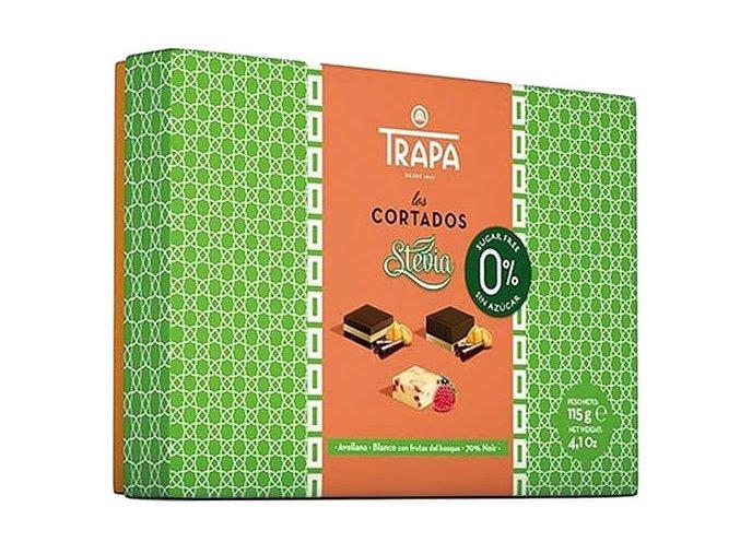 Trapa Dezert CORTADOS směs bonbonů, se stévií 115 g
