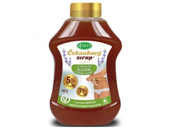 4Slim Čekankový sirup Originál 700 g