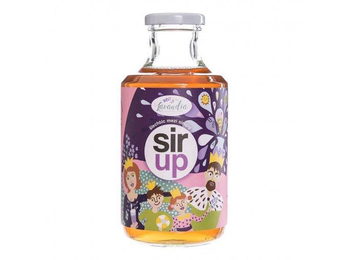 Levandia Bio Sirup výluh z levandule 500ml