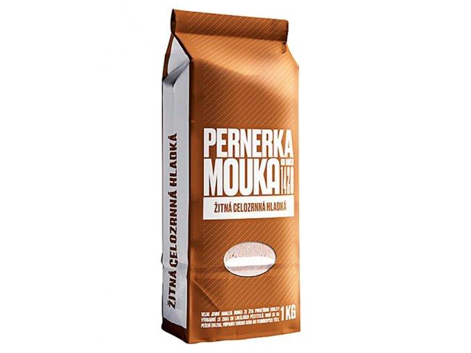 Žitná celozrnná mouka hladká 1000g Pernerka