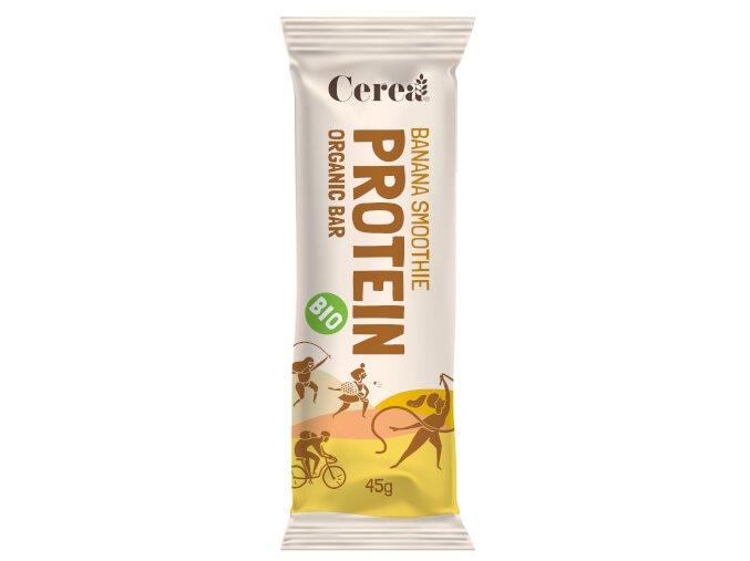 Cerea Bio proteinová tyčinka PROTEIN Banana Smoothie 45g