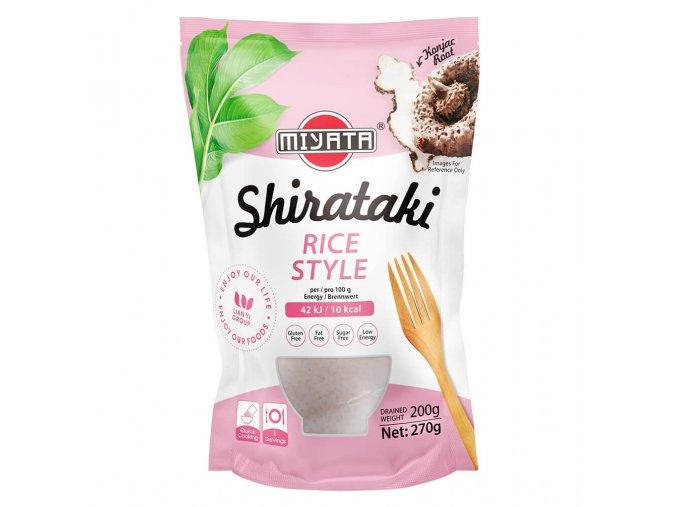 Konjakové nudle Shirataki ve tvaru rýže v nálevu 270g
