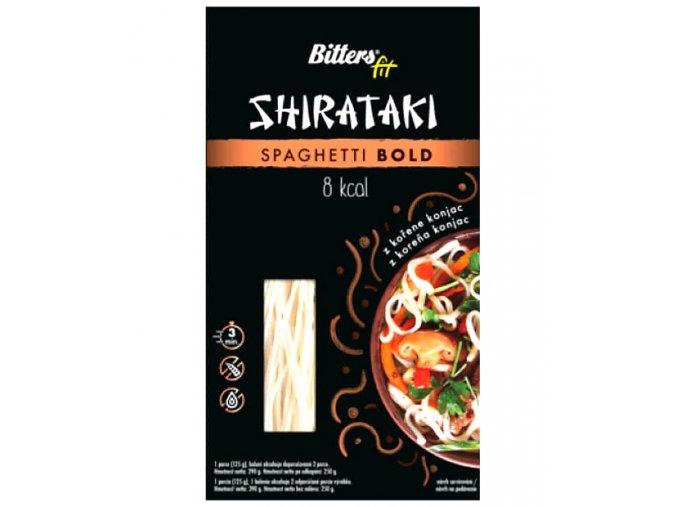 Bitters Shirataki FIT spaghetti bold 390g