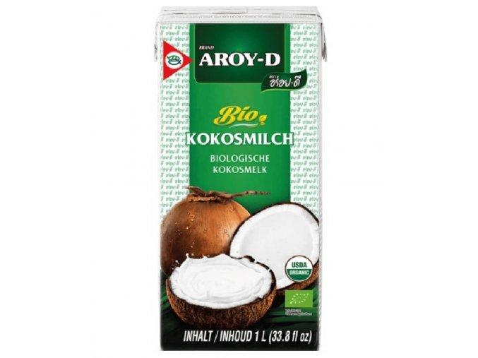 Aroy D kokosové mléko BIO 1000 ml