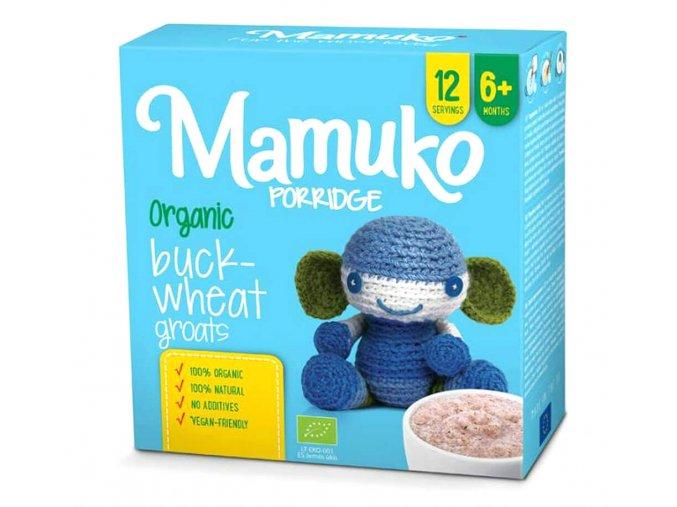 Mamuko bio dětská kaše hnědá pohanka 240g