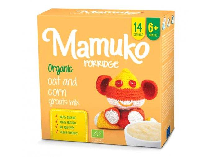 Mamuko bio dětská kaše kukuřice, oves 240g