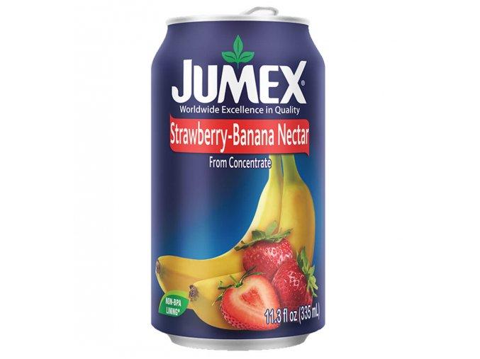 JUMEX Ovocný nápoj Jahoda Banán 335 ml