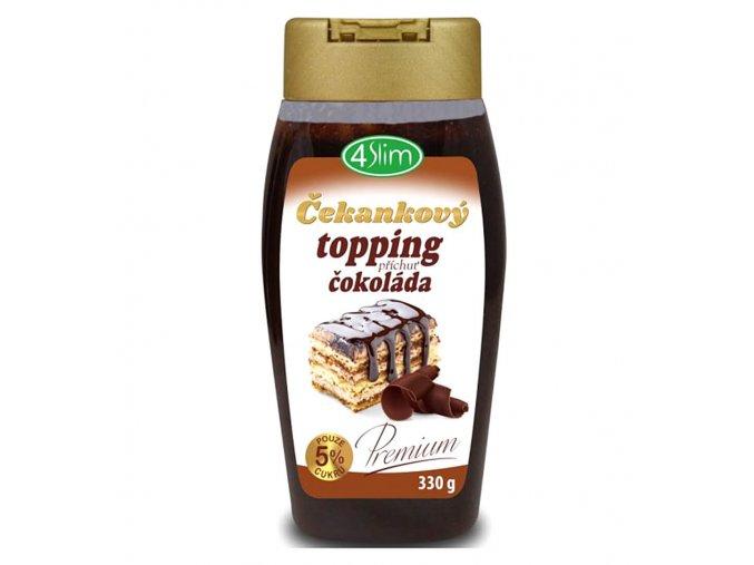 4Slim Čekankový topping čokoláda 330g