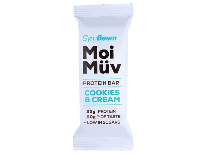 GymBeam Proteinová tyčinka MoiMüv 60g