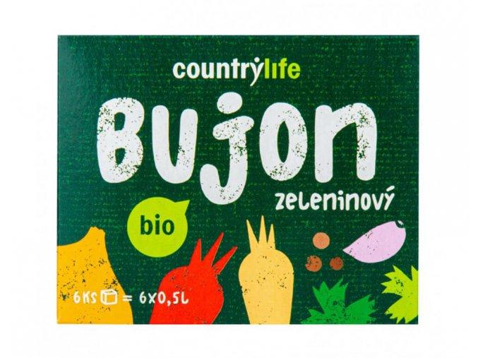 Country Life Bujon zeleninový BIO 66 g