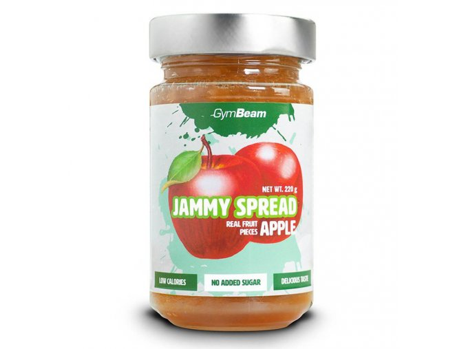 GymBeam Jammy Spread jablko 220 g