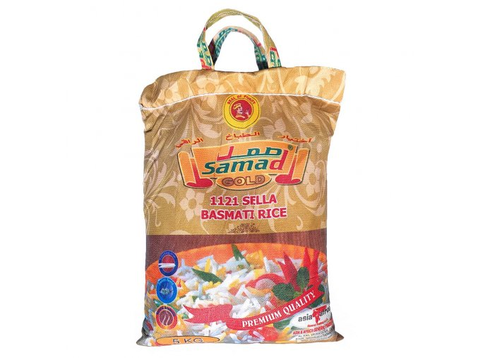 Rýže Basmati GOLD 1121 SELLA 5 kg
