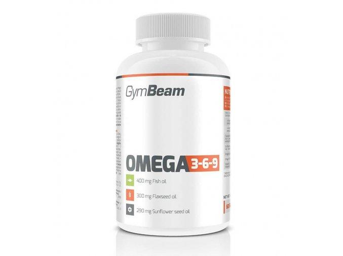 GymBeam Omega 3 6 9 60 kapslí