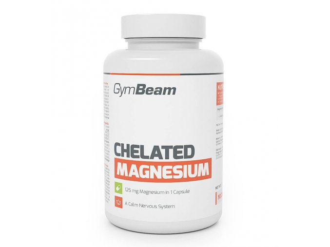 GymBeam Chelated magnesium 90 kaps