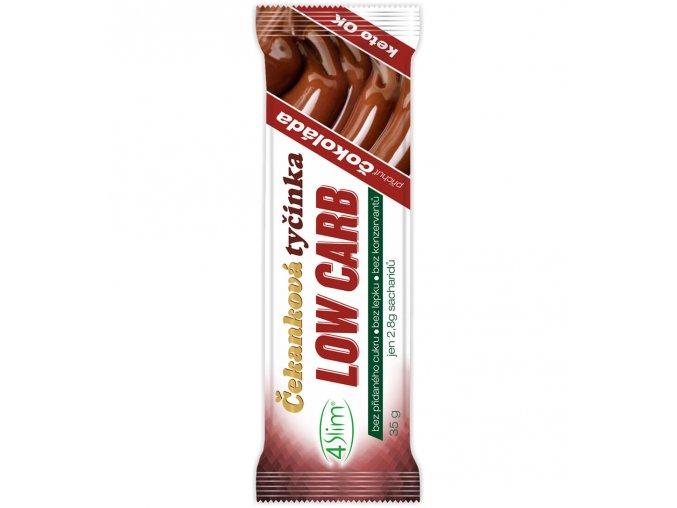 Čekanková tyčinka LOW CARB čokoláda 35g