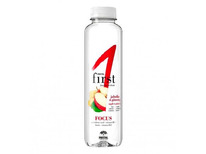 Fructal First Jablko a ženšen funkční voda 500 ml