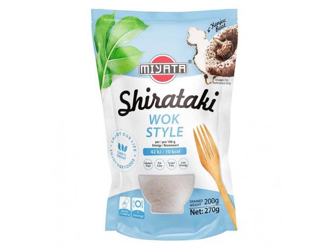 Konjakové nudle Shirataki Wok style v nálevu 270 g